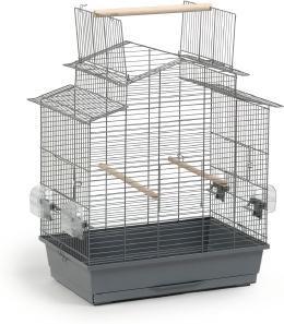 Vogelkäfig Big Iza 3 - Offen - Grau - Beeztees